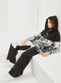 Cotton - Black - Sweat-shirt - Muni Muni