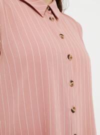 Powder - Stripe - Point Collar - Tunic