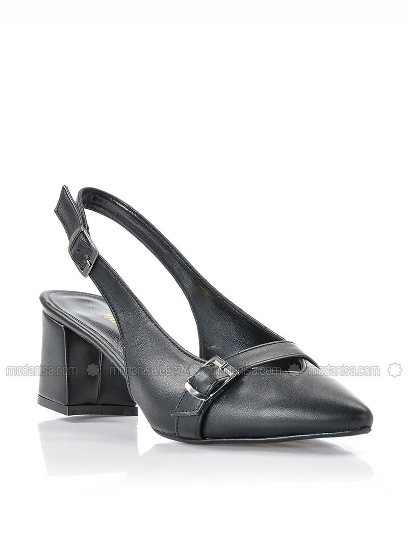 Black - High Heel - Heels - Vizon