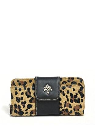 Camel - Leopard - Wallet