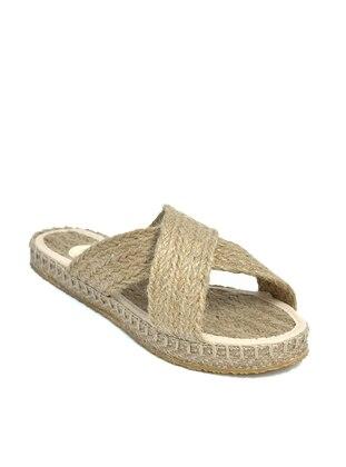 Beige - Sandal - Shoes