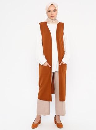 Terra Cotta - Unlined -  - Vest