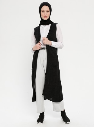 Anthracite - Unlined -  - Vest