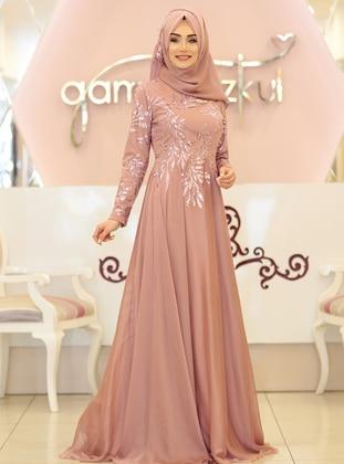 7aa23817db55d Gamze Özkul Tesettür Abiye Modelleri ve Fiyatları - Modanisa.com