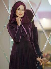 Fuchsia - Fully Lined - Dress
