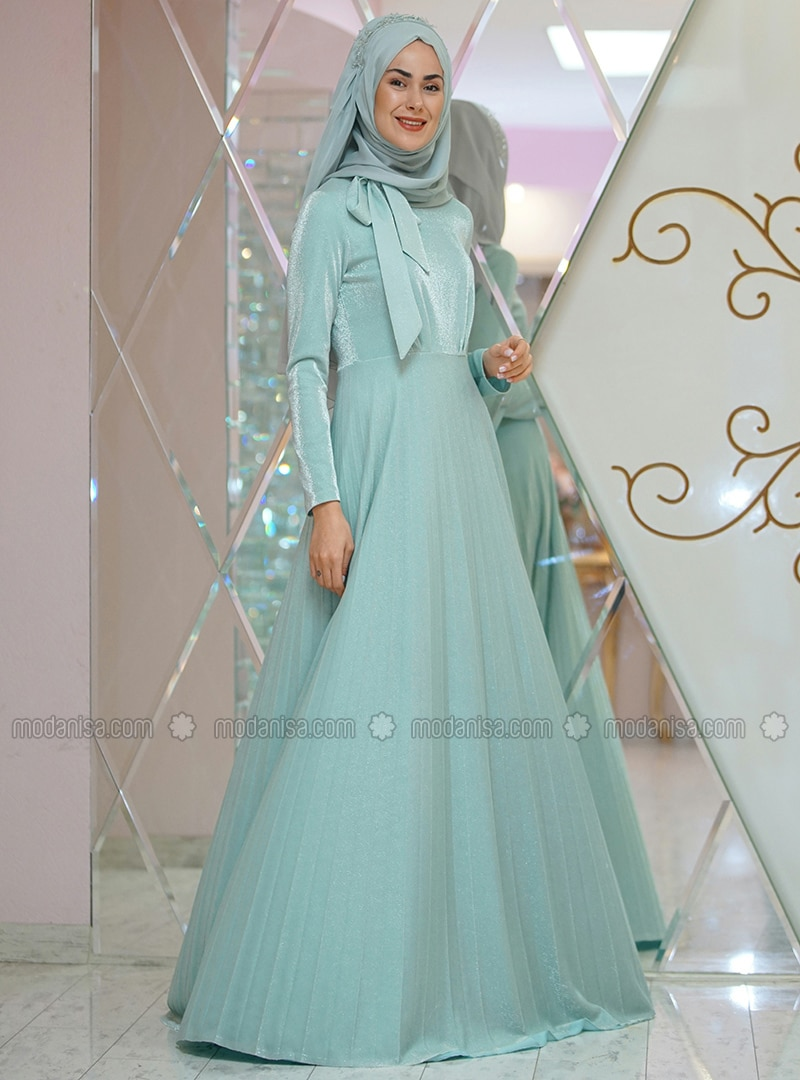Mint - Fully Lined - Dress