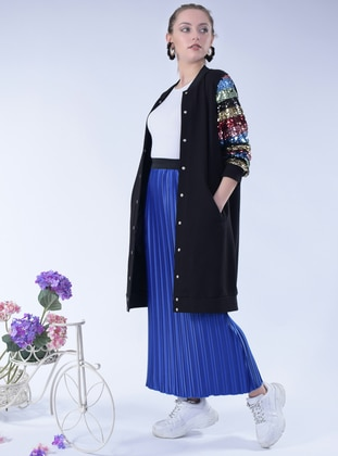 Saxe - Unlined - Satin - Skirt