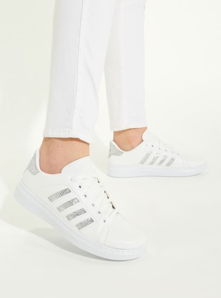 White - Sport - Shoes - Snox