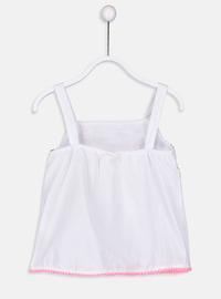 White - Girls` Shirt