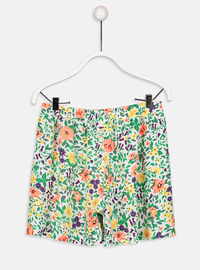 Ecru - Girls` Shorts