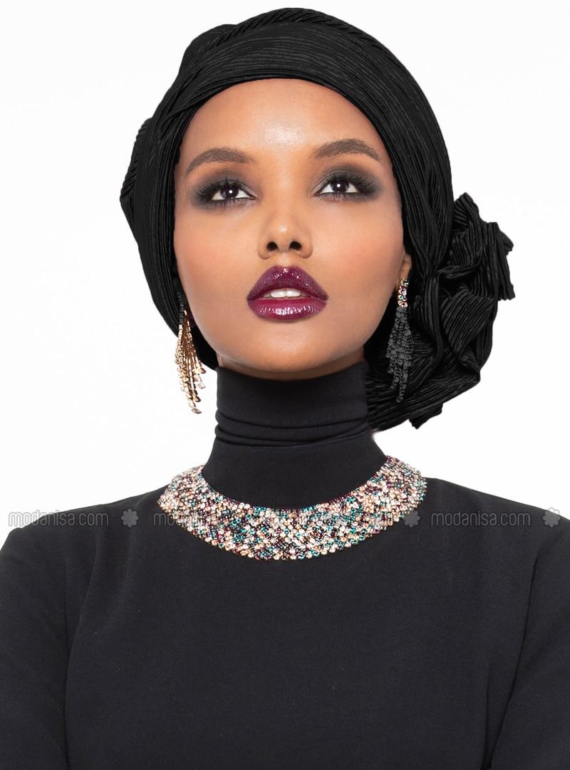 Leda Turban - Black
