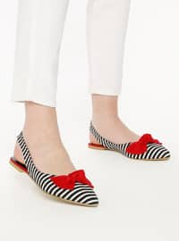 Red - Flat - Shoes