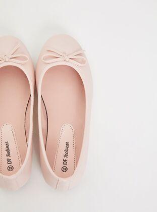 Orange - Flat Shoes