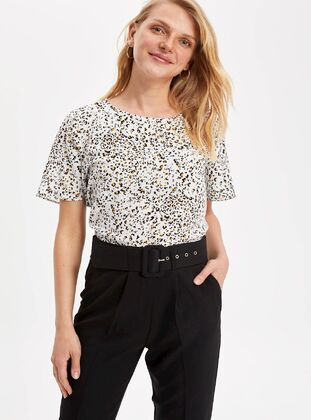 Ecru - Girls` Blouse - DeFacto