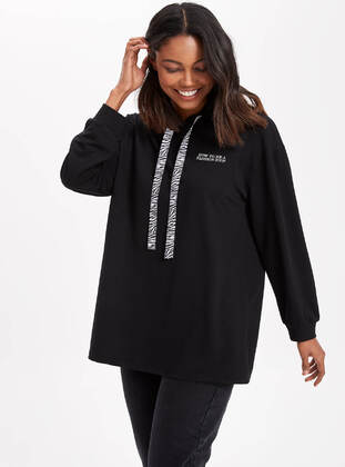 Black - Girls` Tunic - DeFacto