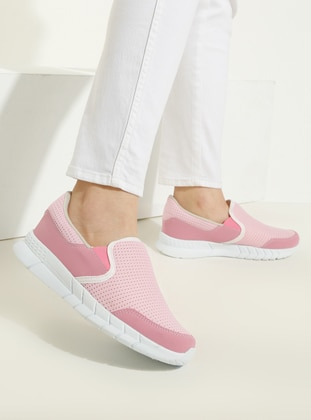 Pink - Powder - Sport - Sports Shoes