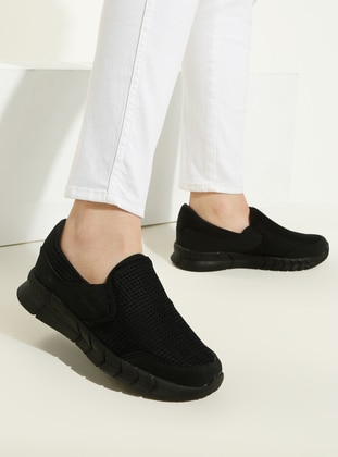 Black - Sport - Sports Shoes - Gezer