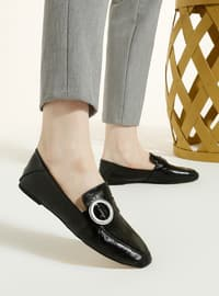 Black - Black - Casual - Black - Casual - Black - Casual - Black - Casual - Black - Casual - Flat Shoes
