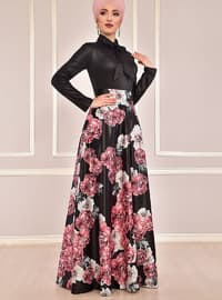 Fully Lined - Dusty Rose - Floral - Evening Suit