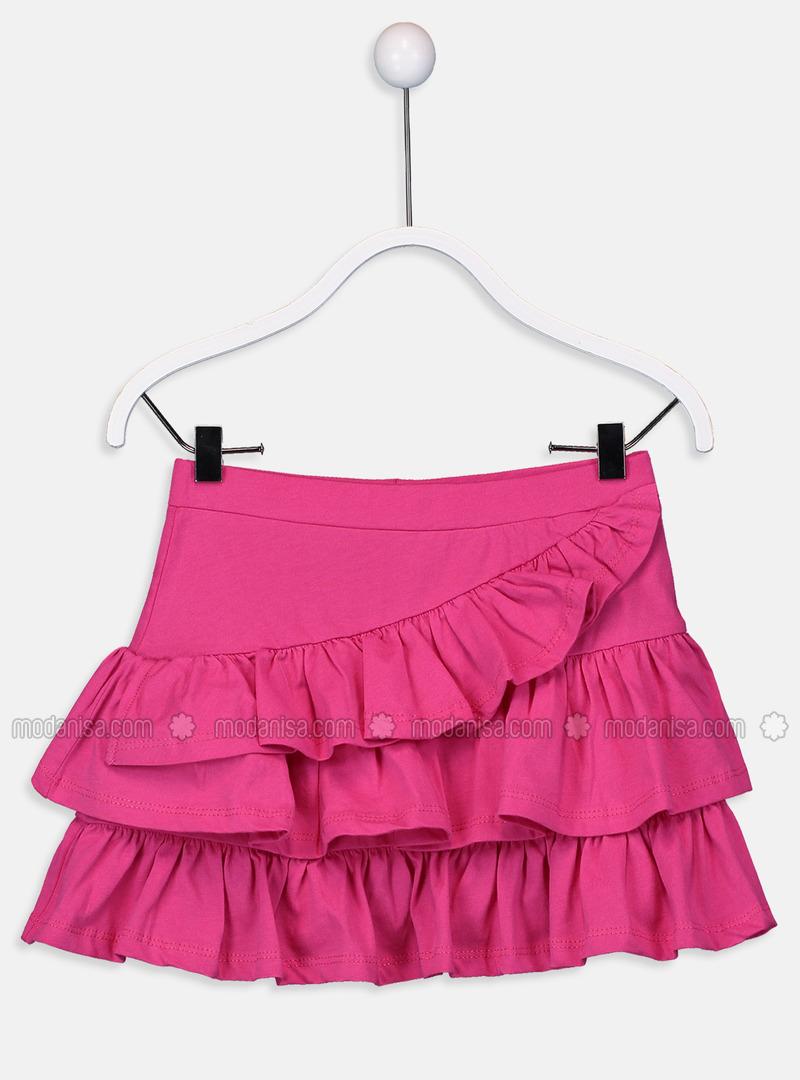 Fuchsia - Girls` Skirt