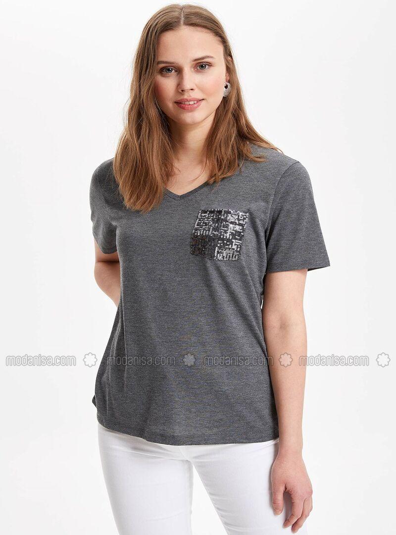 Anthracite - Boys` T-Shirt