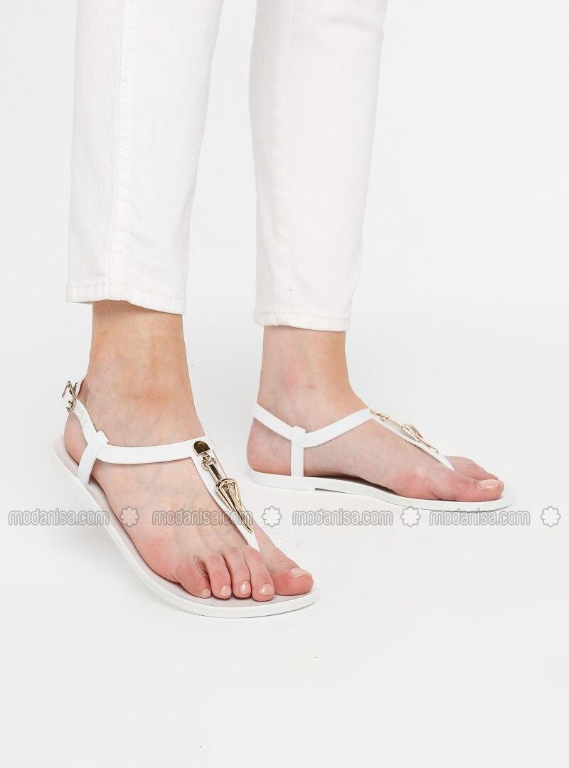 White - Sandal - Shoes