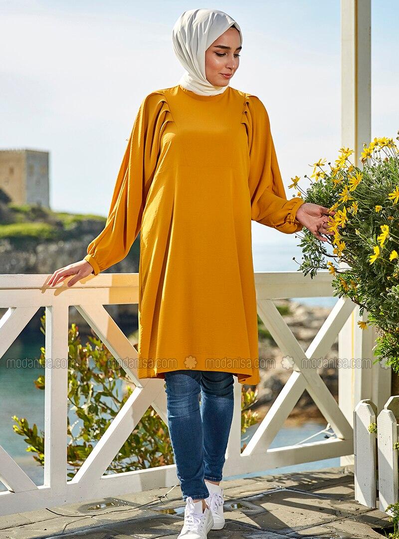 Yellow - Cotton - Tunic