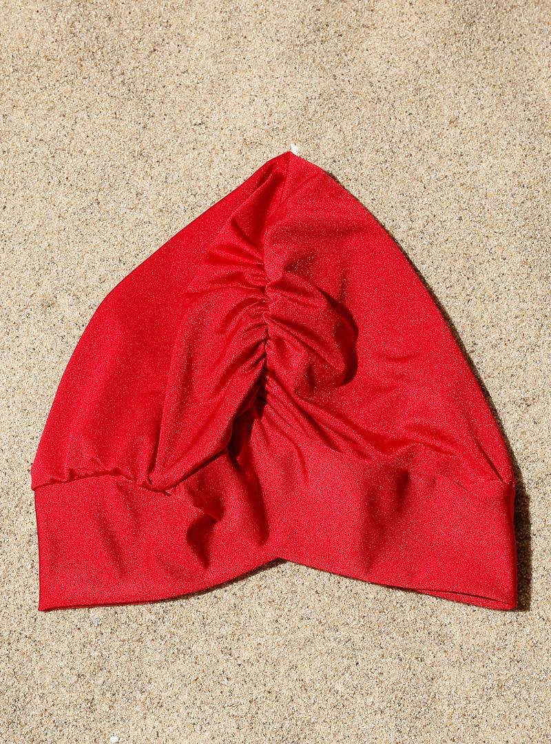 Tesettür Deniz Bonesi AQUELLA Kırmızı Kadın Standart