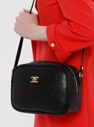 Black - Shoulder Bags - Pierre Cardin Çanta