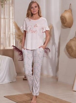 Powder - Crew neck - Multi - Pyjama