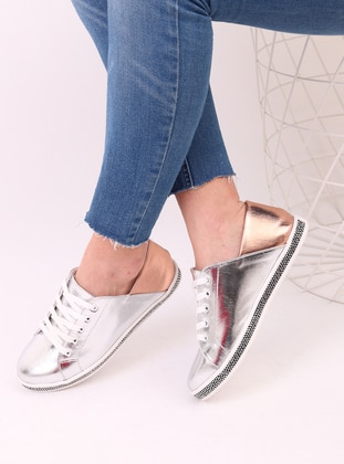 Silver tone - Rose - Sport - Sports Shoes - Dujour Paris