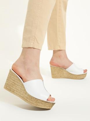 White - Sandal - Slippers