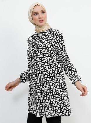 a543ceea964f0 Beyaz Tunik Modelleri ve Fiyatları - Modanisa.com