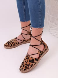 Leopard - Casual - Flat Shoes - Dujour Paris