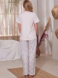 Powder - V neck Collar - Multi - Pyjama