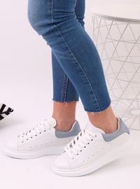 Blue - White - Sport - Sports Shoes - Dujour Paris