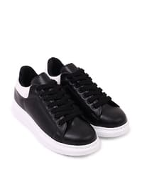Black - White - Sport - Sports Shoes - Dujour Paris