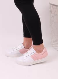 White - Powder - Sport - Sports Shoes - Dujour Paris