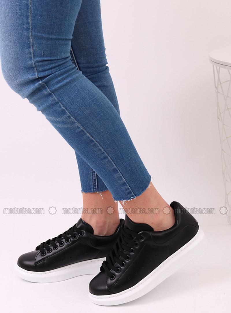 Black - Sport - Sports Shoes - Dujour Paris