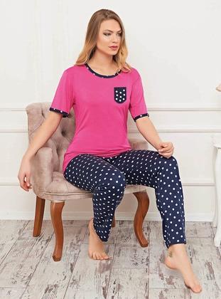 Pink - Multi - Polka Dot - Pyjama