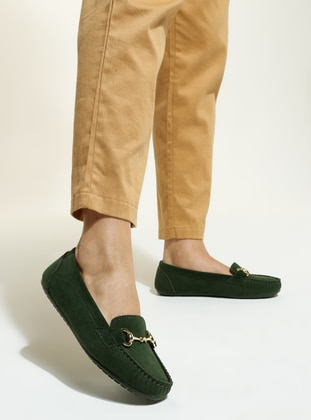 Green - Casual - Shoes