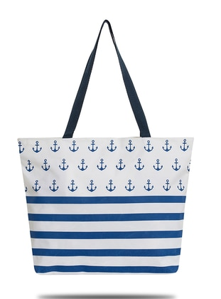 Satchel - White - Beach Bags