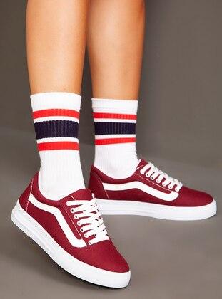 Maroon - Sport - Sports Shoes