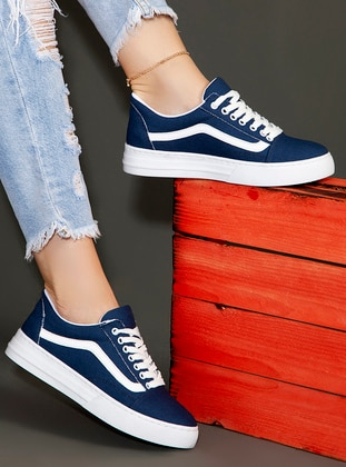 Navy Blue - Sport - Sports Shoes - Ayakkabı Havuzu
