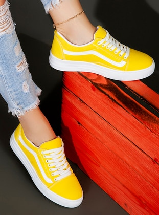 Yellow - Sport - Sports Shoes - Ayakkabı Havuzu