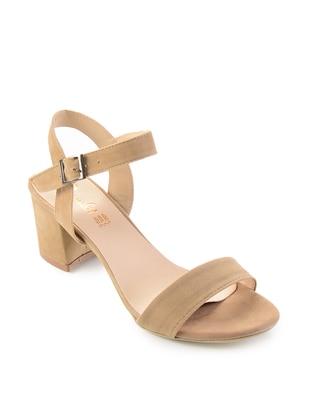Beige - High Heel - Sandal - Shoes