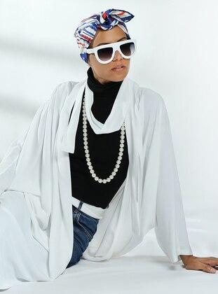 White - Unlined - Viscose - Topcoat