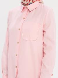 Powder - Button Collar - Point Collar - Tunic