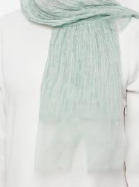 Green Almond - Plain - Acrylic - Shawl
