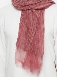 Cherry - Plain - Acrylic - Shawl